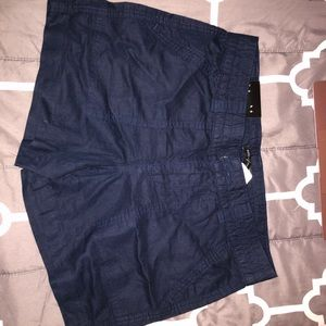 Banana republic navy blue shorts
